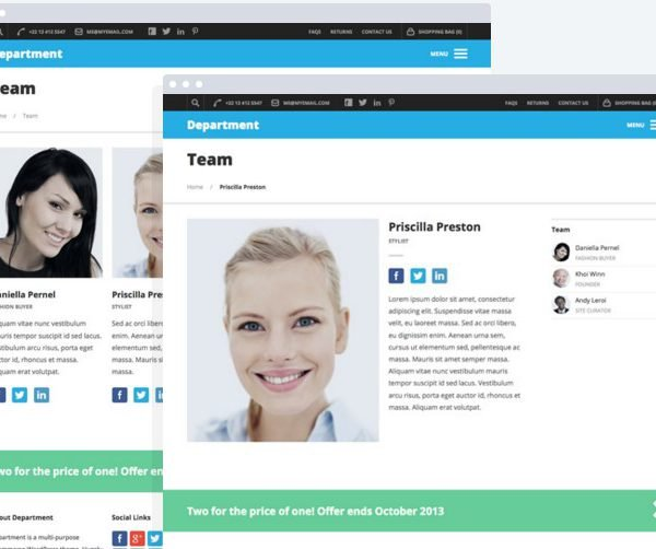 OboxThemes Department WooCommerce Themes