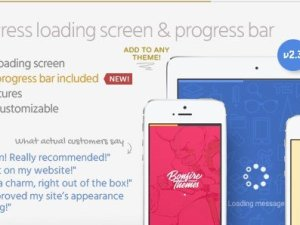 PageLoader - Loading Screen and Progress Bar for WordPress