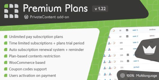 PrivateContent - Premium Plans add-on