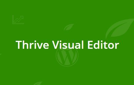 Thrive Visual Editor