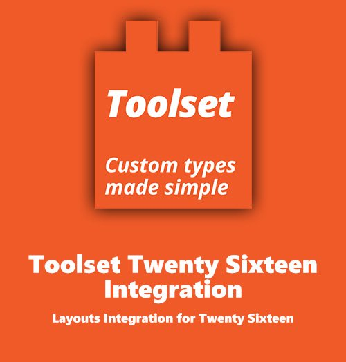 WPLocker-Toolset Twenty Sixteen Integration