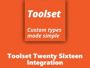 WPLocker-Toolset Twenty Sixteen Integration