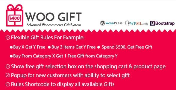 Woo Gift - Advanced Woocommerce Gift Plugin