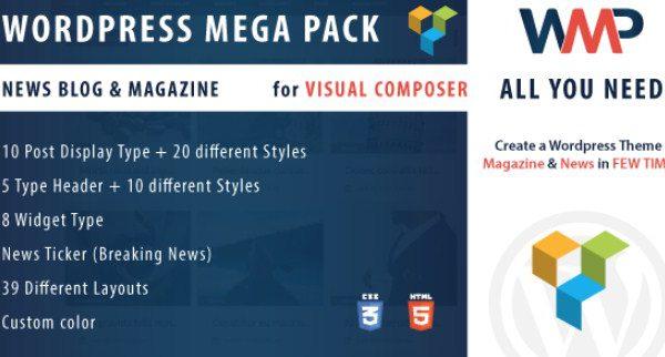 WordPress Mega Pack for Visual composer