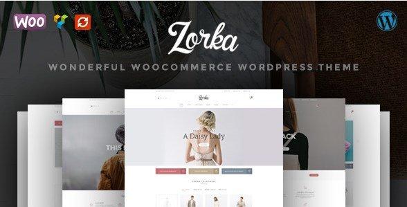 ZORKA - Wonderful Fashion WooCommerce Theme