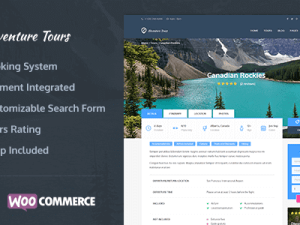 Adventure Tours - WordPress Tour Travel Theme