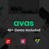 Avas | Multi-Purpose Responsive WordPress Theme