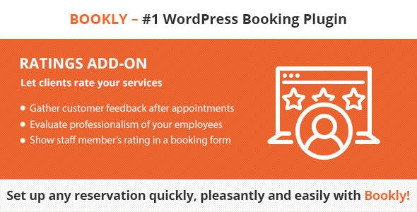 Bookly – Ratings (Add-on)
