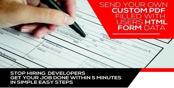Form Generating PDF Premium