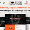 Gym Edge – Gym Fitness WordPress Theme
