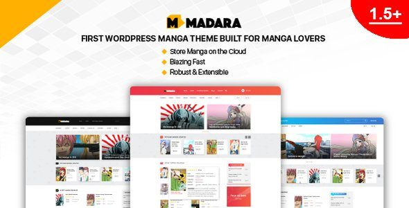 Madara – WordPress Theme for Manga