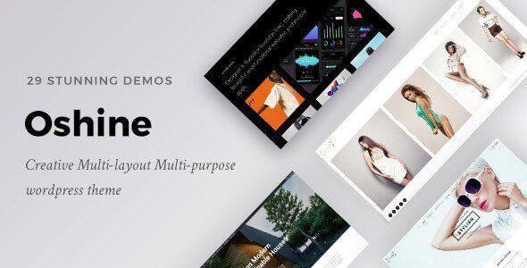 Oshine – Creative Multi-Purpose WordPress Theme