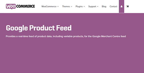Woocommerce Google Product Feeds