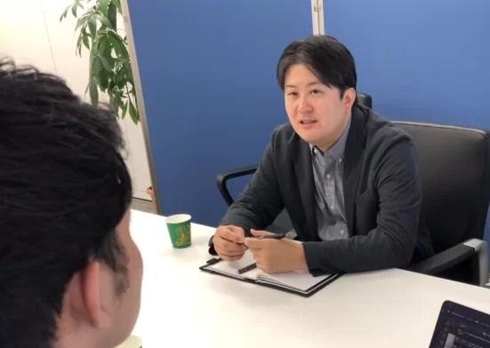 日刊ゲンダイ インタビュー風景1