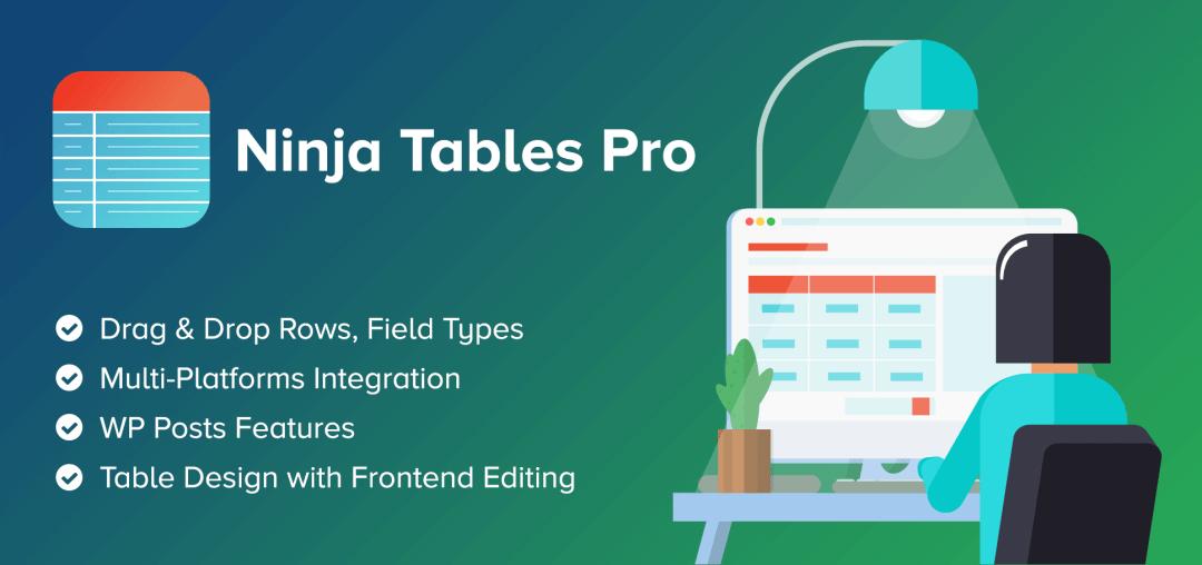 Ninja Tables Pro