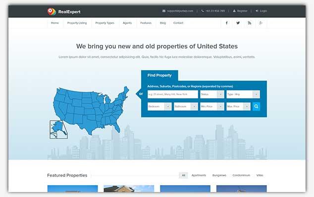 RealExpert - WordPress Emlak Teması
