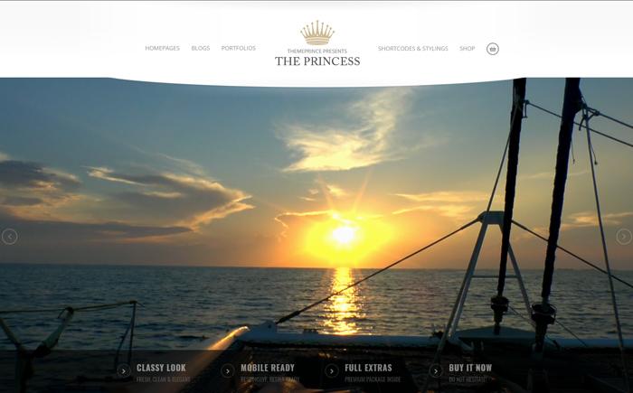 Princess - WordPress Theme