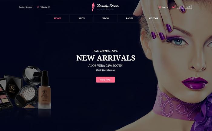 Vani - Health & Beauty Responsive WooCommerce WordPress Theme