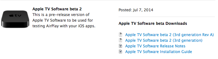 Apple-tv-software-7-beta-3