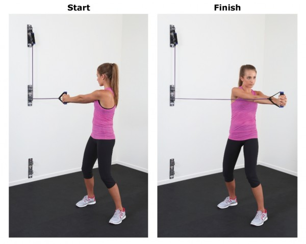 Resistance Band Body Weight Core Shoulder Circuit Workout All