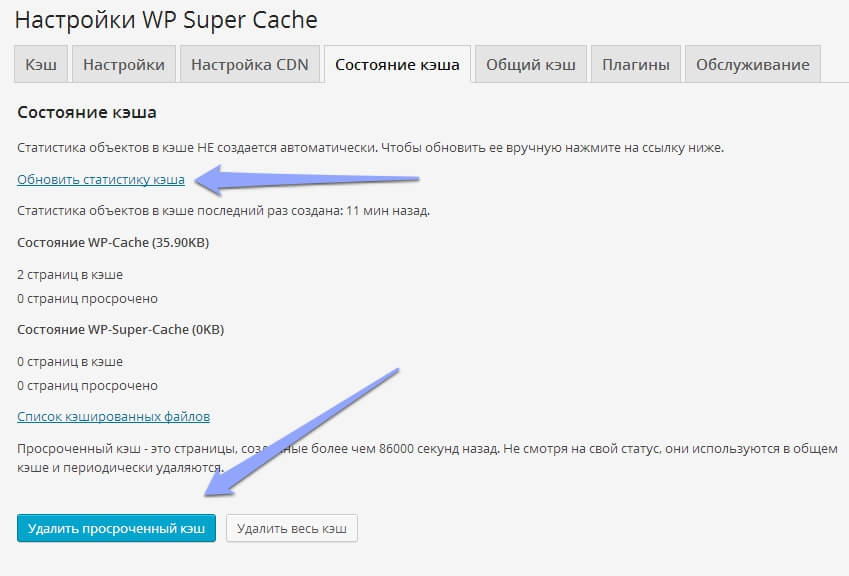 Как настроить плагин WP Super Cache, чтобы ускорить WordPres