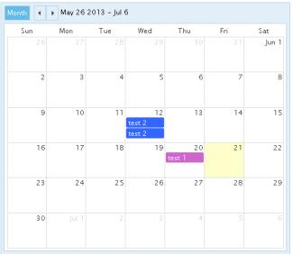 Calendar Event Multi View Calendar View