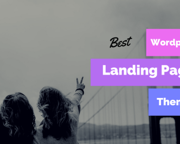 Best Wordpress Landing Page