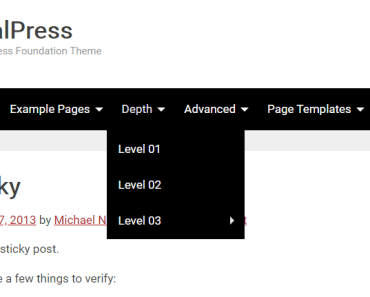TotalPress Multi Level Menu
