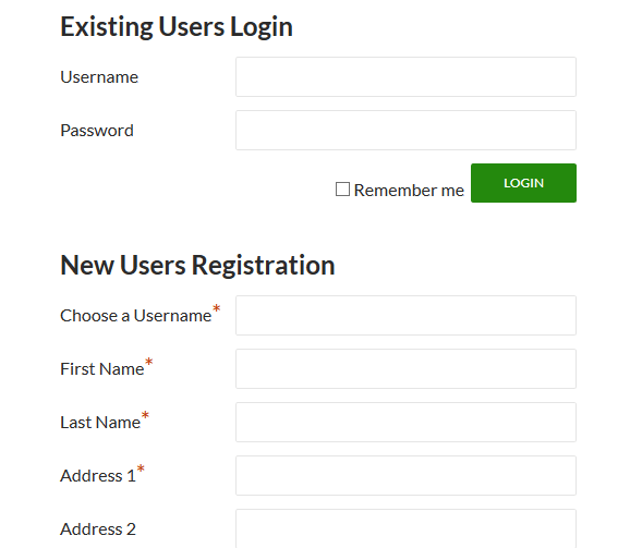 WP-Members Login And Signup