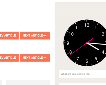 Display An Analog Clock In The Sidebar Widget-min