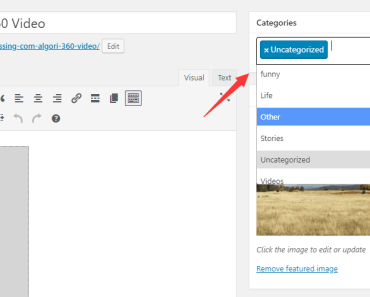 Quickly Search For Categories When Adding New Posts - Search Post Category-min
