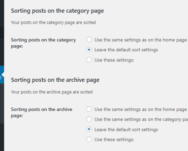 Reorder Wordpress Posts On Home Category Archive page - Better Posts Plus