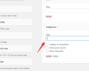 Remove Widget Title With A Plugin