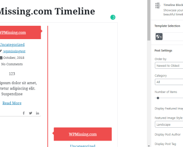 customize the timeline on the Settings panel