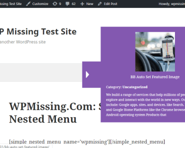 Create Side Next Prev Post Navigation With Featured Images - WP Post Nav