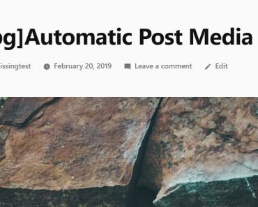 Auto Publish A Post After Uploading A Media - Automatic Post Media