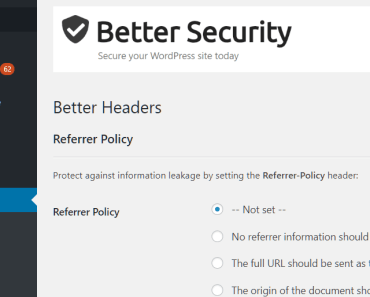 Secure Your Wordpress Site By Setting HTTP Headers - Better Headers