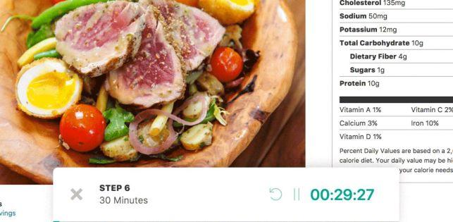 Cooked – Recipe Plugin Steps