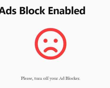 Block Adblock Users Using NS AdBlock Blocker Plugin