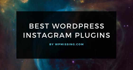 Best Instagram Plugins & Widgets