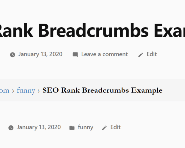 Responsive Beautiful Breadcrumbs Plugin - SEO Rank Breadcrumbs