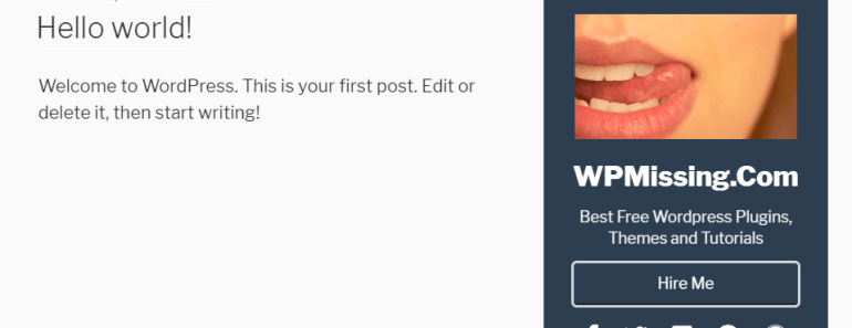 Advanced Author BIO Box As A Widget