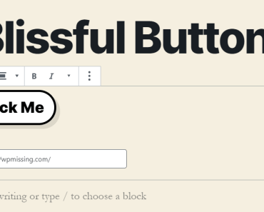 Blissful Buttons Text And Link