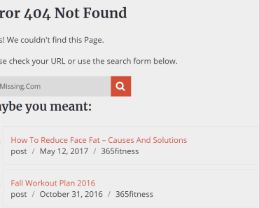 Add Related Posts & Pages To 404 Not Found Page