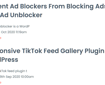 Display Latest Posts From Another WordPress Website - Blog Crosspost