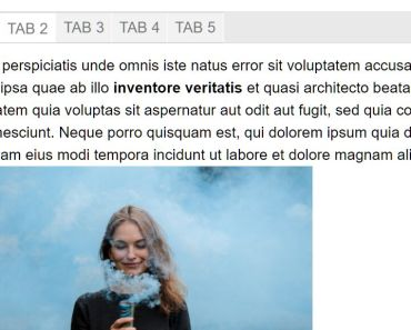 Responsive Accessible Tabs Block For Gutenberg Editor