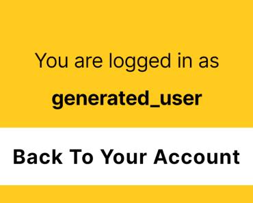 Login As Any Users In WordPress Switch Back