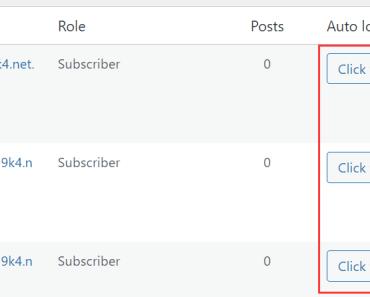 Log In To WordPress Using A Magic Link