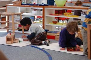 Children Working Freely