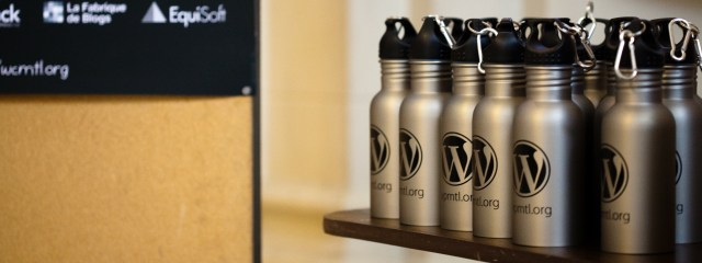 bottles at wordcamp 2011 by elida arrizza